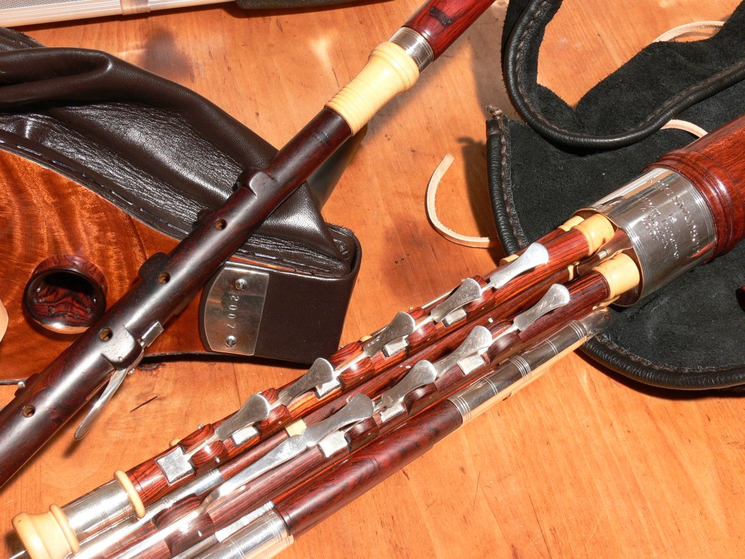 how to raise the pitch on an uilleann chanter
